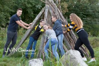 Familiefotoshoot Natuurspeeltuin Nieuwkoop LIVINGmemoriesfotografie 1
