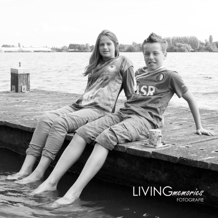 Familiefotoshoot Langeraarse Plassen Ter Aar LIVINGmemories fotografie 1
