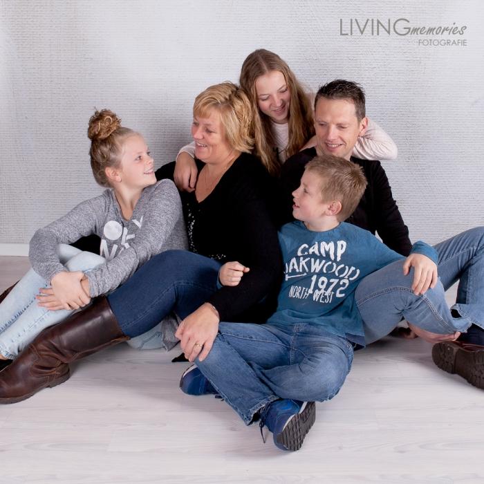Gezinsfotoshoot Ter Aar in de studio LIVINGmemories fotografie 7