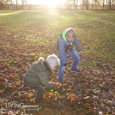 Familiefotoshoot Nieuwveen bos LIVINGmemories fotografie