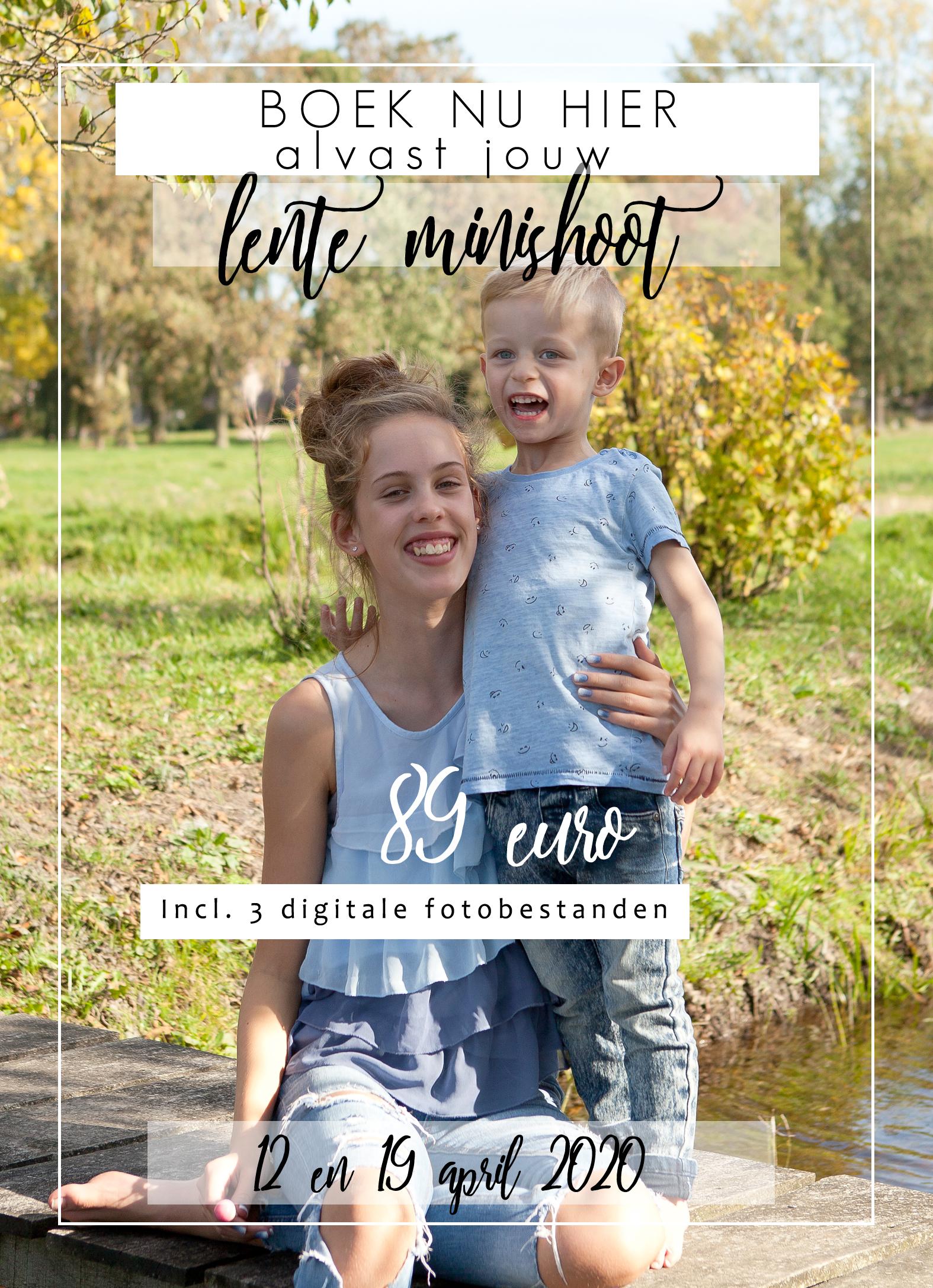 Mini lenteshoots Ter Aar 2020 LIVINGmemories fotografie